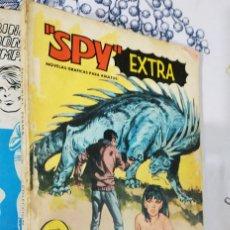 Tebeos: SPY N.º 1 LOS ASESINOS DE PORCELANA ED. FERMA 1969 TACO. Lote 222491810