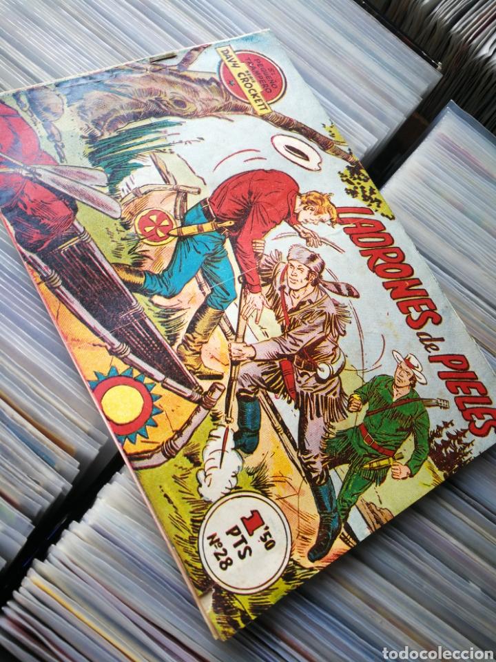 EL PEQUEÑO TRAMPERO- LADRONES DE PIELES (SERIE DAVY CROCKETT), N°28. (Tebeos y Comics - Ferma - Otros)