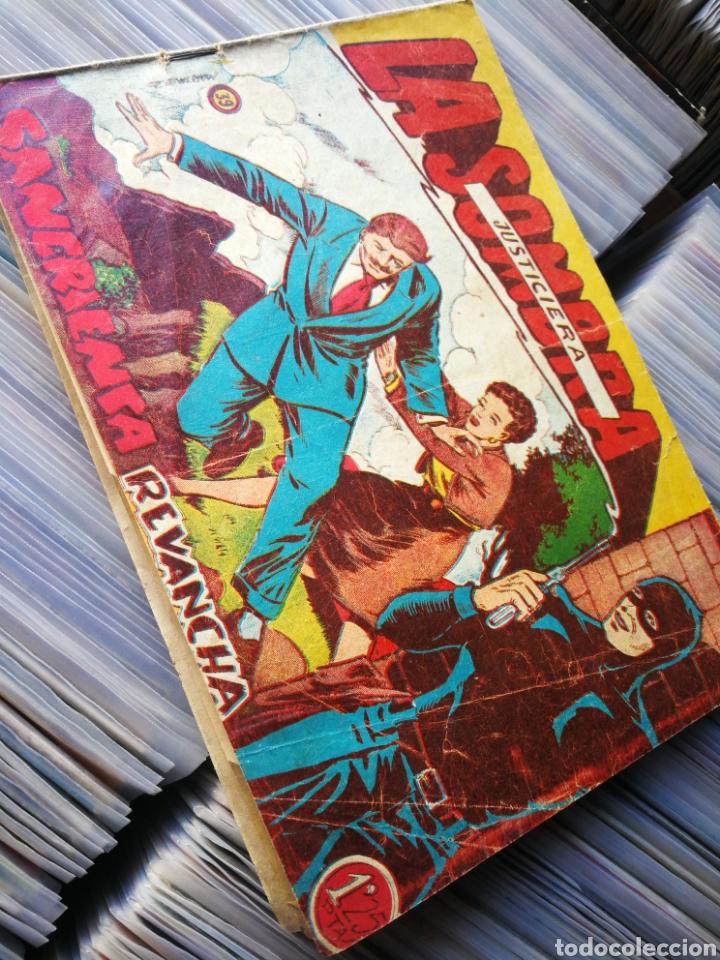 LA SOMBRA JUSTICIERA- SANGRIENTA REVANCHA, N°39. EDITORIAL FERMA. DIFÍCIL!!!. (Tebeos y Comics - Ferma - Otros)