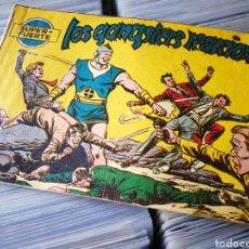 Tebeos: SUPER FUERTE- LOS GANGSTERS REACCIONAN, N°2, FERMA. 1958.DIFÍCIL!!!. Lote 222548387
