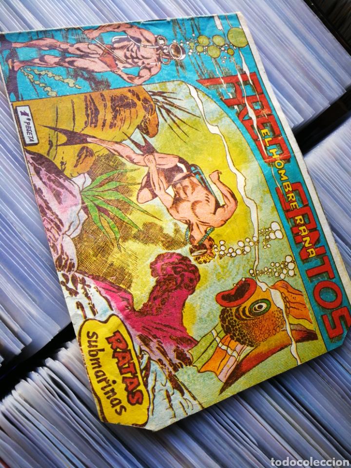 FRED SANTOS (EL HOMBRE RANA)- RATAS SUBMARINAS, N°6. EDITORIAL FERMA. (Tebeos y Comics - Ferma - Otros)