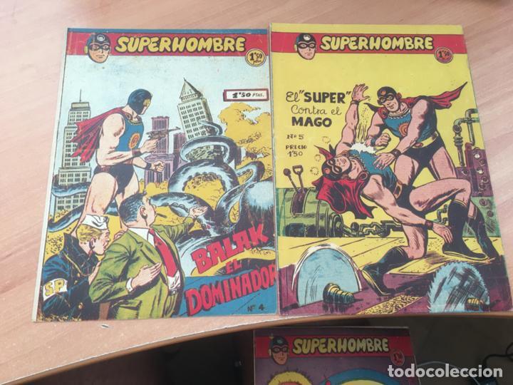 Tebeos: EL SUPERHOMBRE LOTE Nº 2, 3, 4, 5, 6, 7, 8, 9, 10, 11, 12 Y REGALO (ORIGINAL FERMA) (COIB158) - Foto 3 - 223975671