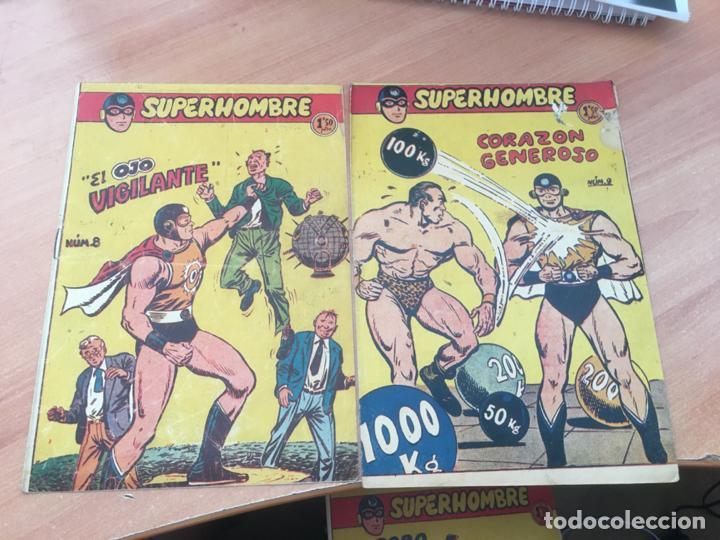 Tebeos: EL SUPERHOMBRE LOTE Nº 2, 3, 4, 5, 6, 7, 8, 9, 10, 11, 12 Y REGALO (ORIGINAL FERMA) (COIB158) - Foto 5 - 223975671