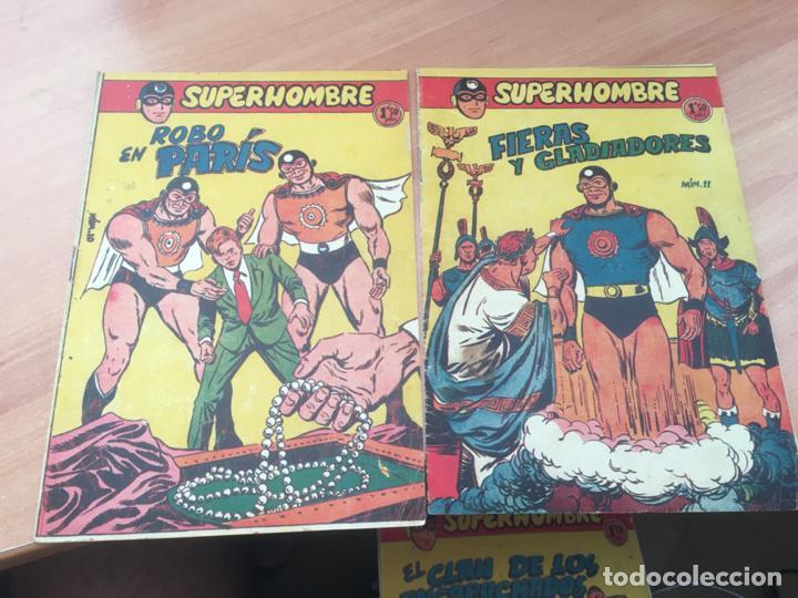 Tebeos: EL SUPERHOMBRE LOTE Nº 2, 3, 4, 5, 6, 7, 8, 9, 10, 11, 12 Y REGALO (ORIGINAL FERMA) (COIB158) - Foto 6 - 223975671