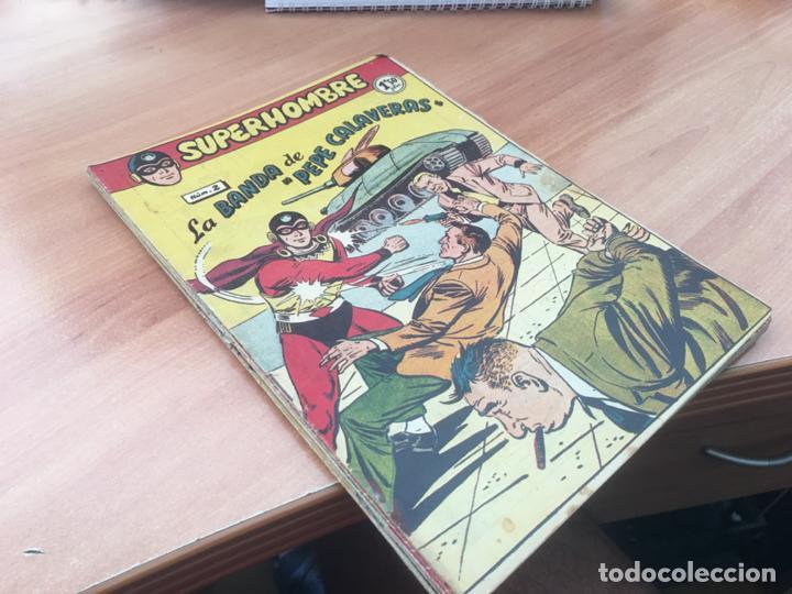 EL SUPERHOMBRE LOTE Nº 2, 3, 4, 5, 6, 7, 8, 9, 10, 11, 12 Y REGALO (ORIGINAL FERMA) (COIB158) (Tebeos y Comics - Ferma - Otros)