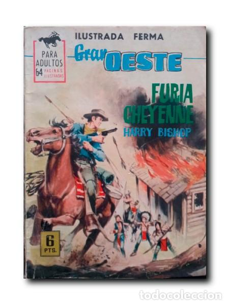 FURIA CHEYENNE. BISHOP, HARRY (Tebeos y Comics - Ferma - Gran Oeste)
