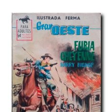 Tebeos: FURIA CHEYENNE. BISHOP, HARRY. Lote 224804722