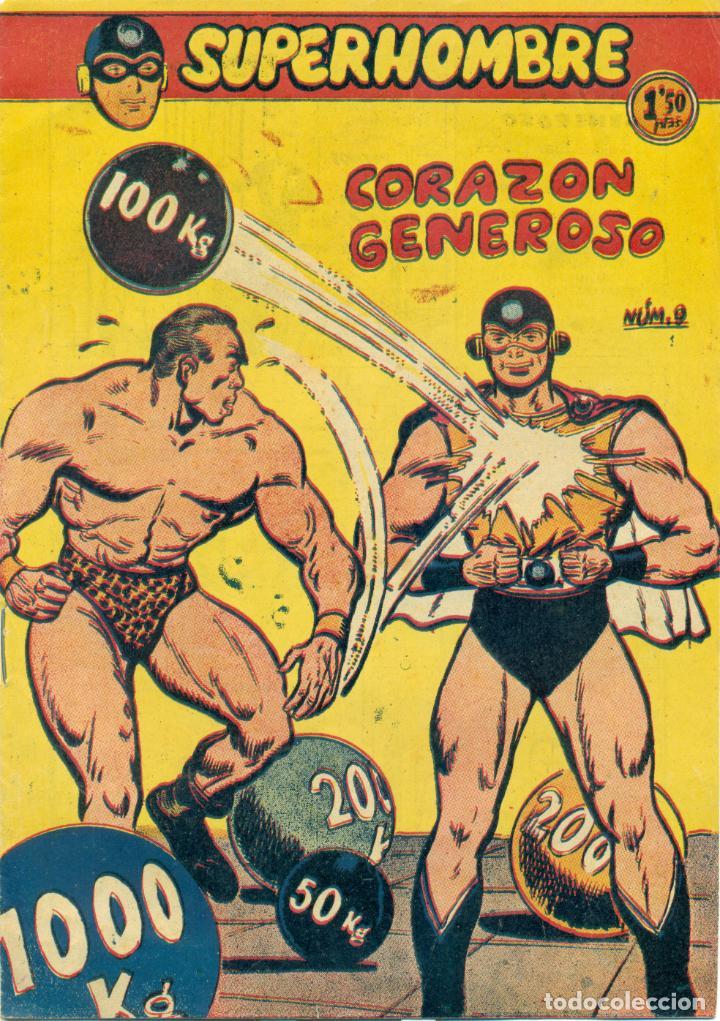 SUPERHOMBRE Nº 9 ORIGINAL DE FERMA (Tebeos y Comics - Ferma - Otros)