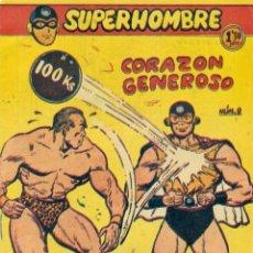 Tebeos: SUPERHOMBRE Nº 9 ORIGINAL DE FERMA. Lote 224892446