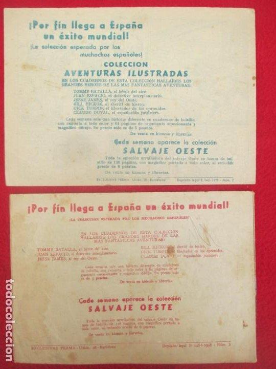 Tebeos: LOTE 8 TEBEOS EL PEQUEÑO TRAMPERO 2ª SERIE FERMA ORIGINAL - Foto 3 - 224958830