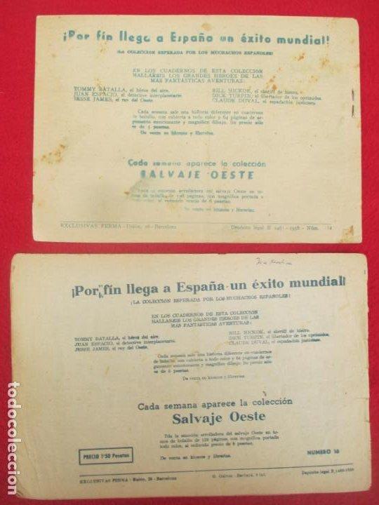 Tebeos: LOTE 8 TEBEOS EL PEQUEÑO TRAMPERO 2ª SERIE FERMA ORIGINAL - Foto 7 - 224958830