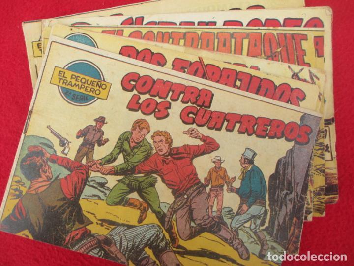LOTE 8 TEBEOS EL PEQUEÑO TRAMPERO 2ª SERIE FERMA ORIGINAL (Tebeos y Comics - Ferma - Otros)