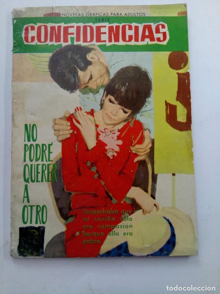 CONFIDENCIAS Nº 346 - NO PODRÉ QUERER A OTRO - EDITORIAL FERMA (Tebeos y Comics - Ferma - Otros)