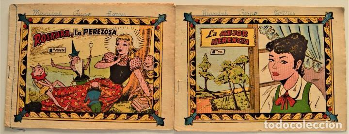 LOTE 2 CUENTOS COLECCIÓN PRINCESA CAROLINA Nº 112 Y 122 - EXCLUSIVAS FERMA (Tebeos y Comics - Ferma - Otros)