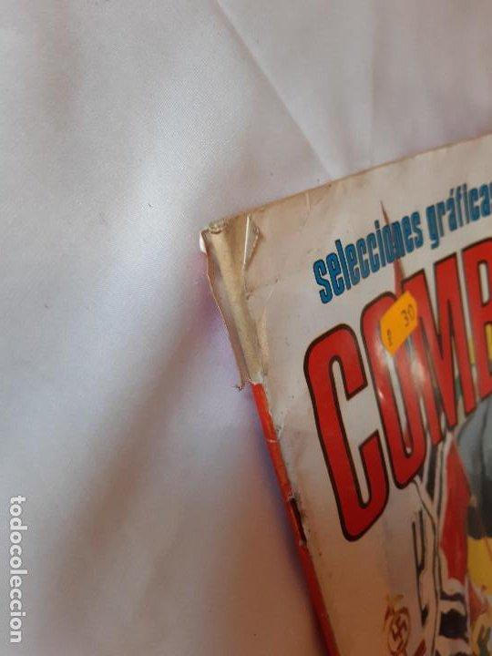 Tebeos: COMIC COMBATE, SELECCIONES GRAFICAS DE GUERRA. NUMERO 125. - Foto 4 - 225977070
