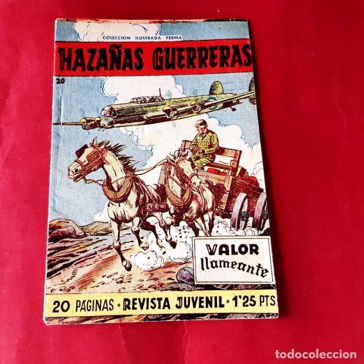 HAZAÑAS GUERRERAS ORIGINAL Nº 20 - FERMA 1958- EXCELENTE ESTADO (Tebeos y Comics - Ferma - Otros)