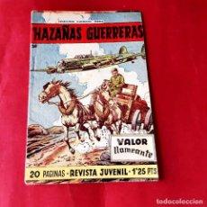 Tebeos: HAZAÑAS GUERRERAS ORIGINAL Nº 20 - FERMA 1958- EXCELENTE ESTADO. Lote 226505460