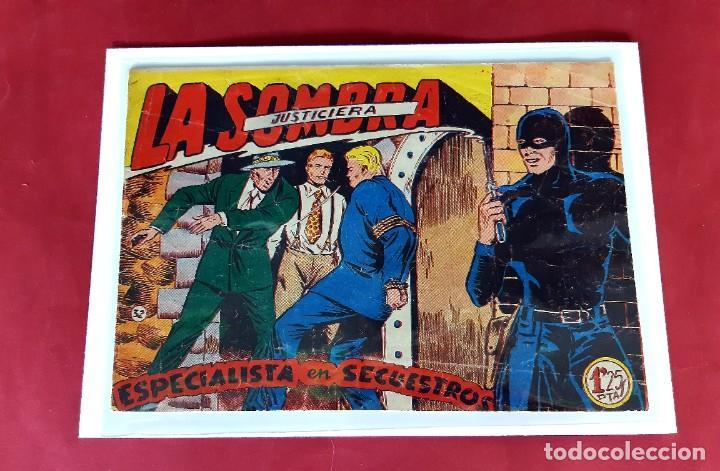 LA SOMBRA JUSTICIERA -ESPECIALISTA EN SECUESTRO- Nº 32 FERMA ORIGINAL EXCELENTE ESTADO (Tebeos y Comics - Ferma - Otros)