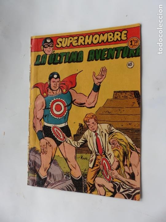 SUPER HOMBRE Nº 68 ULTIMO DE LA COLEC FERMA ORIGINAL (Tebeos y Comics - Ferma - Otros)