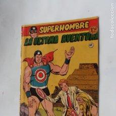 Tebeos: SUPERHOMBRE Nº 68 ULTIMO DE LA COLEC FERMA ORIGINAL. Lote 226758965