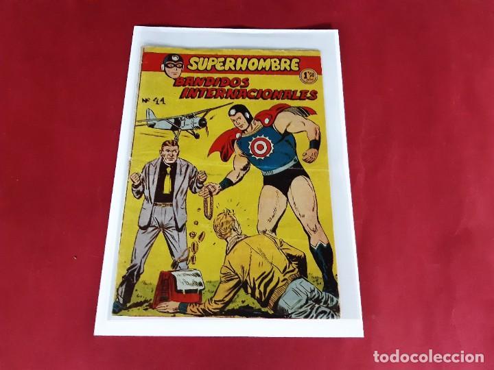 SUPERHOMBRE , Nº 44 - ORIGINAL - FERMA -EXCELENTE ESTADO (Tebeos y Comics - Ferma - Otros)