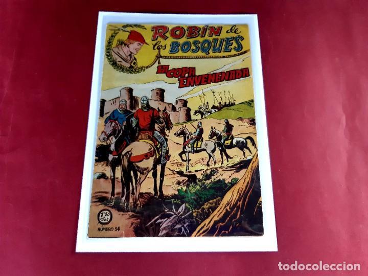 ROBÍN DE LOS BOSQUES Nº 54. FERMA 1956 -ORIGINAL-EXCELENTE ESTADO (Tebeos y Comics - Ferma - Otros)