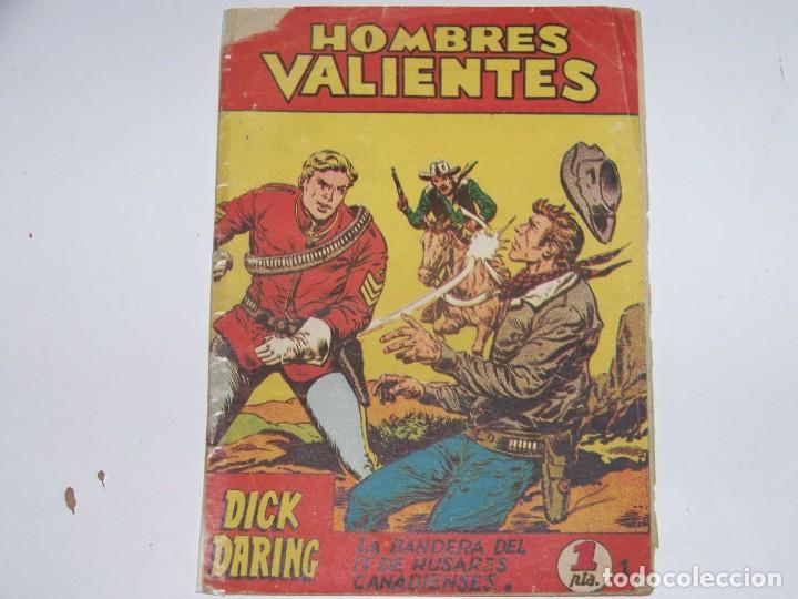FERMA HOMBRES VALIENTES DICK DARING 1 (Tebeos y Comics - Ferma - Otros)