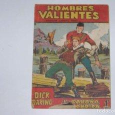 Tebeos: FERMA HOMBRES VALIENTES DICK DARING 18. Lote 226947885