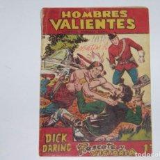 Tebeos: FERMA HOMBRES VALIENTES DICK DARING 20. Lote 226947990