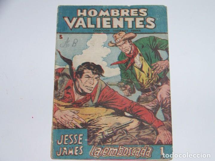 FERMA HOMBRES VALIENTES JESSE JAMES 3 (Tebeos y Comics - Ferma - Otros)