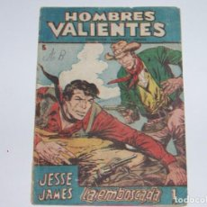 Tebeos: FERMA HOMBRES VALIENTES JESSE JAMES 3. Lote 226948220