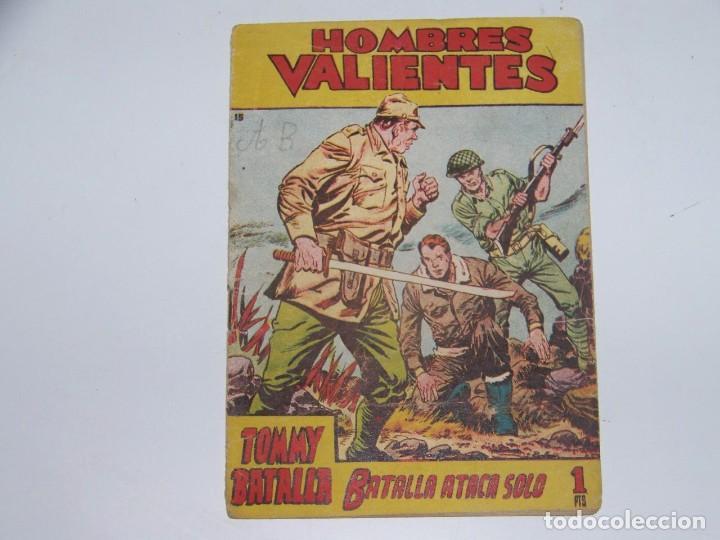 FERMA HOMBRES VALIENTES TOMMY BATALLA 15 (Tebeos y Comics - Ferma - Otros)