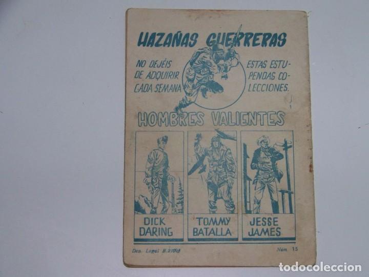 Tebeos: FERMA HOMBRES VALIENTES TOMMY BATALLA 15 - Foto 2 - 226948575
