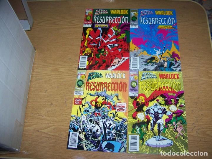 FORUM ESTELA PLATEADA WARLOCK COMPLETA 4 Nº (Tebeos y Comics - Ferma - Otros)
