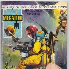 BDs: MEGATÓN, 9: LA NAVE MISTERIOSA (PHIL EVANS, TOM COOKE) - FERMA, 1966 | CIENCIA FICCIÓN. Lote 227720526