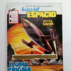 Tebeos: RUTAS DE ESPACIO - EL GRAN ENIGMA - PETER KAPRA. Lote 227817100