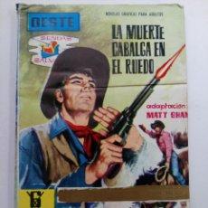 Tebeos: LA MUERTE CABALGA EN EL RUEDO - EDITORIAL FERMA. Lote 227818340