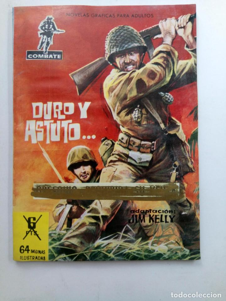 COMBATE - DURO Y ASTUTO... - ADAPTACIÓN: JIM KELLY - EDICIONES FERMA (Tebeos y Comics - Ferma - Combate)