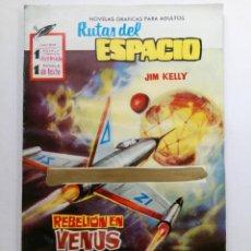 Tebeos: RUTAS DEL ESPACIO - JIM KELLY - REBELIÓN EN VENUS. Lote 227864520