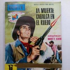Tebeos: OESTE - LA MUERTE CABALGA EN EL RUEDO. Lote 227864671