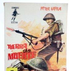 BDs: COMBATE EXTRA 2. TIERRA DE MUERTE (PETER KAPRA) FERMA, 1962. Lote 227945393