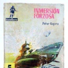 Tebeos: COMBATE 42. INMERSIÓN FORZOSA (PETER KAPRA) FERMA, 1962. Lote 228081702