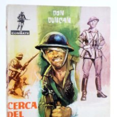 Tebeos: COMBATE 22. CERCA DEL INFIERNO (DON DUNCAN) FERMA, 1962. Lote 228081733