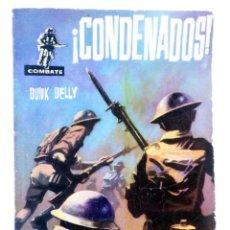 Tebeos: COMBATE 15. ¡CONDENADOS! (BUNK DELLY) FERMA, 1962. Lote 228081753
