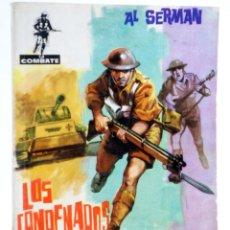 Tebeos: COMBATE 4. LOS CONDENADOS (AL SERMAN) FERMA, 1962. Lote 228081797