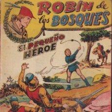Tebeos: ROBIN DE LOS BOSQUES Nº 56: EL PEQUEÑO HÉROE. Lote 228185775