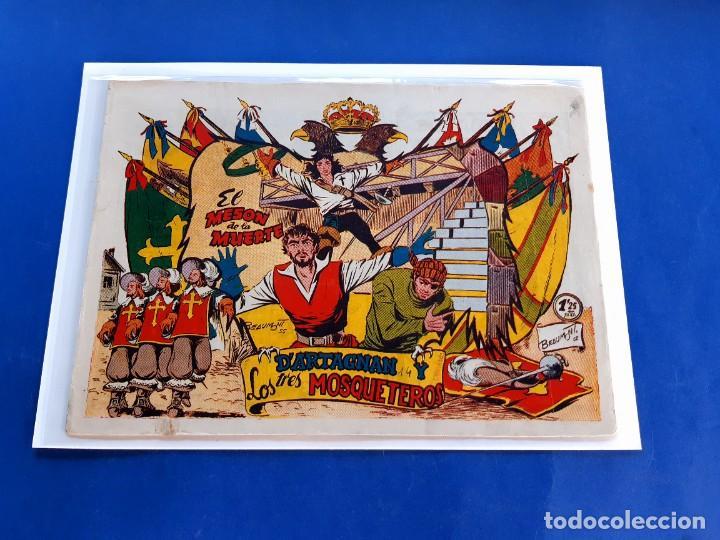 D´ARTAGNAN Y LOS TRES MOSQUETEROS.FERMA 1955. Nº 14- MUY BUEN ESTADO- ORIGINAL- (Tebeos y Comics - Ferma - Otros)