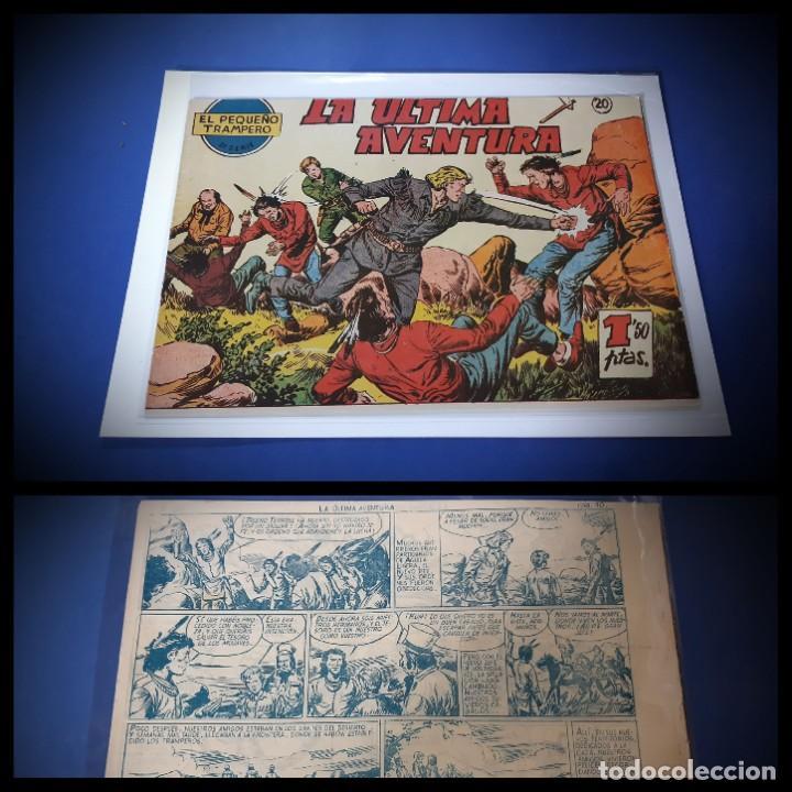 EL PEQUEÑO TRAMPERO Nº 20 -ORIGINAL IMPECABLE ESTADO-LEER DESCRIPCION- (Tebeos y Comics - Ferma - Otros)