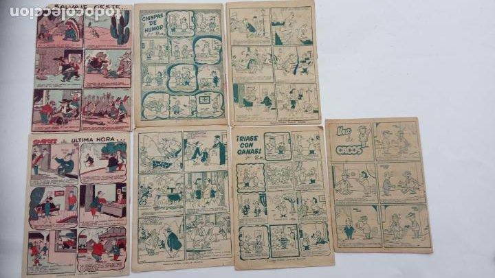 Tebeos: PIM PAM PUM ORIGINALES FERMA 1957 - NºS, 4,7,9,10,14,17,22 - MARTÍNEZ OSETE DIBUJOS - Foto 6 - 231607975