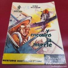 Tebeos: FERMA - COMBATE - Y ENCONTRO LA MUERTE - 8 - 1962. Lote 233109305
